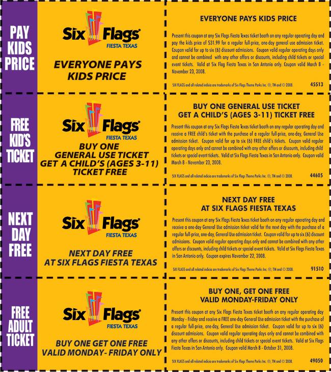 San Antonio Discounts - 2008