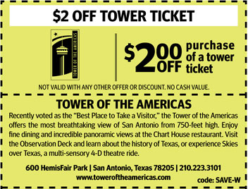 San antonio discount coupons